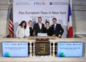 Pan European Days in New York 2013